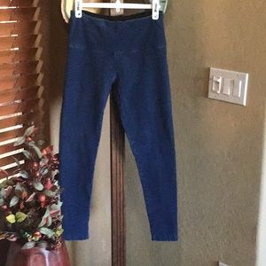 Lysee leggings, medium blue denim